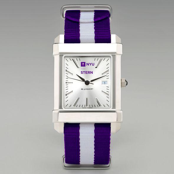 NYU Stern Collegiate Watch with NATO Strap for Men - Image 2