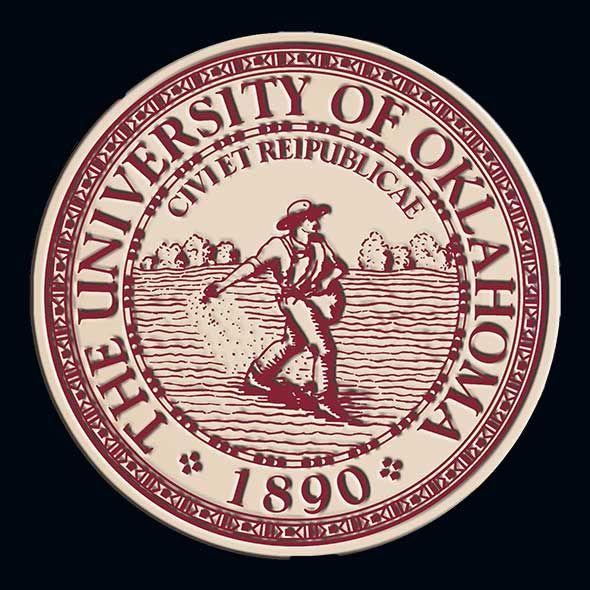 Oklahoma Excelsior Ph.D. Diploma Frame - Image 3