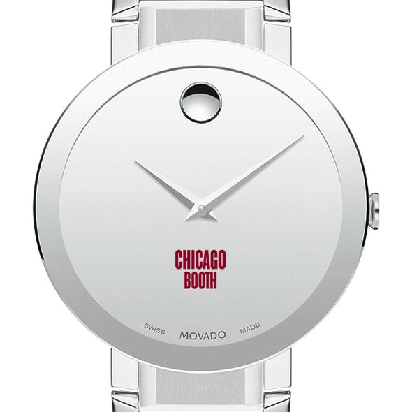 Chicago Booth Men's Movado Sapphire Museum with Bracelet - Image 1