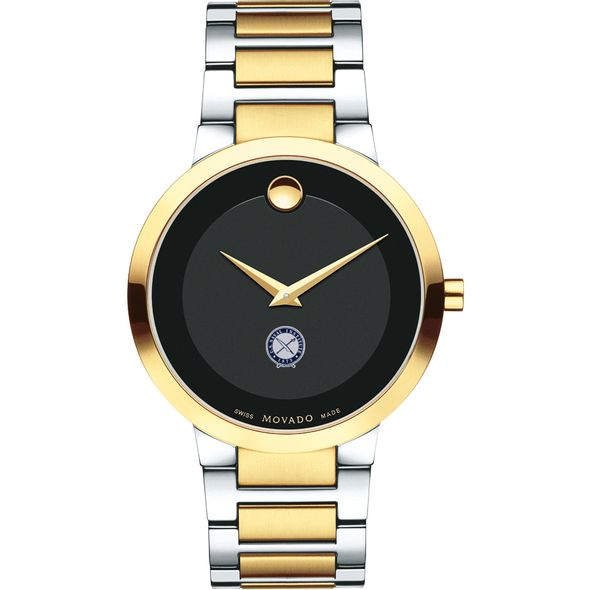 U.S. Naval Institute Men's Movado Two-Tone Modern Classic Museum with Bracelet - Image 2