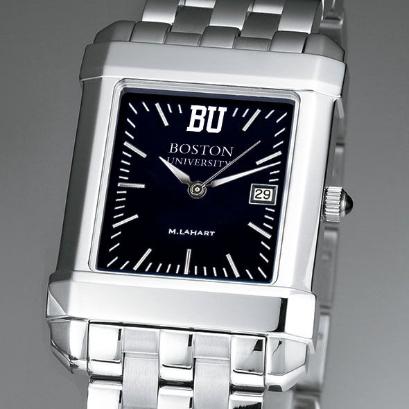 Boston University Men's Black Quad with Bracelet