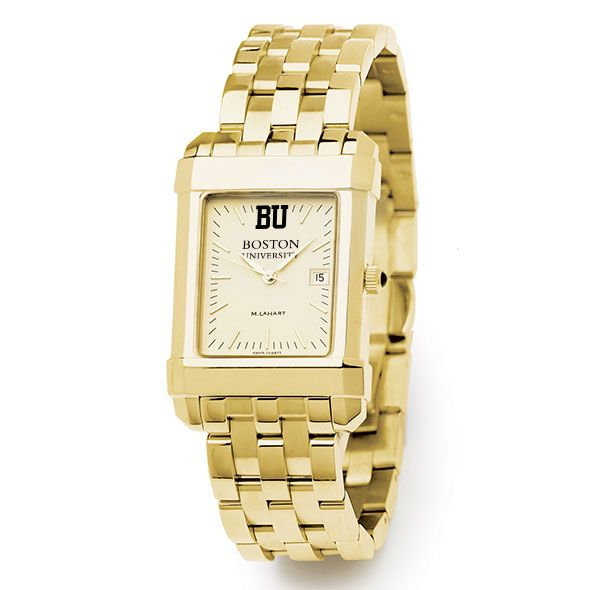 Boston University Men's Gold Quad with Bracelet - Image 2