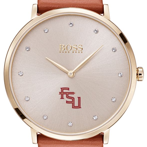 Florida State University Women's BOSS Champagne with Leather from M.LaHart