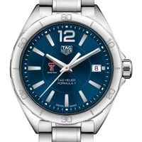 Texas Tech Women's TAG Heuer Formula 1 with Blue Dial