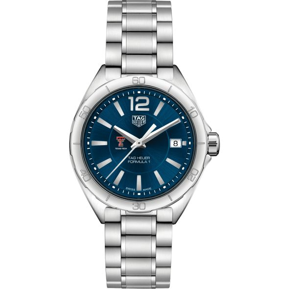 Texas Tech Women's TAG Heuer Formula 1 with Blue Dial - Image 2