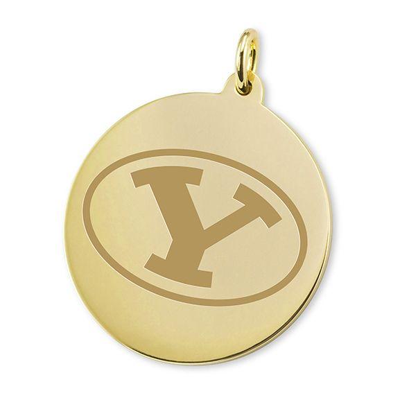 BYU 14K Gold Charm