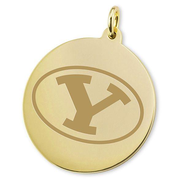 BYU 14K Gold Charm - Image 2