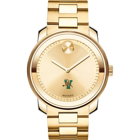 University of Vermont Men's Movado Gold Bold - Image 2