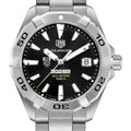 Chicago Booth Men's TAG Heuer Steel Aquaracer with Black Dial - Image 1