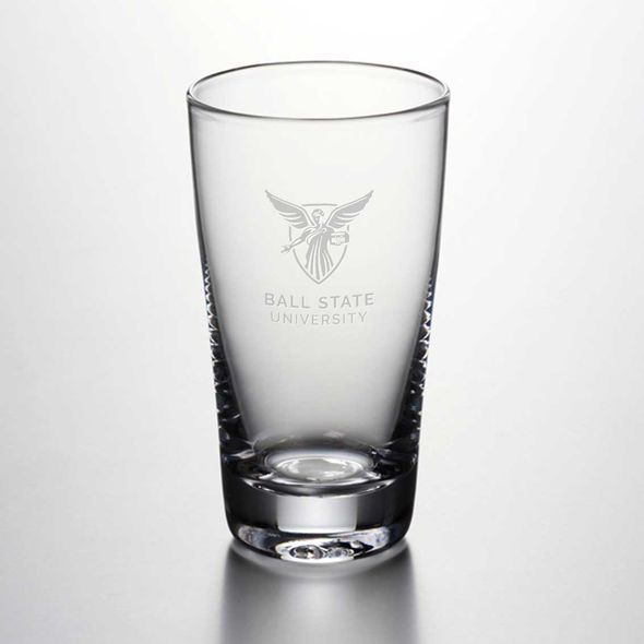 Ball State Ascutney Pint Glass by Simon Pearce - Image 1