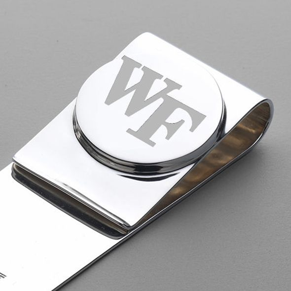 Wake Forest Sterling Silver Money Clip - Image 2