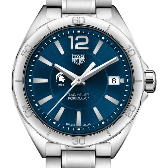 Michigan State University Women's TAG Heuer Formula 1 with Blue Dial
