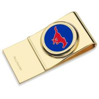 Southern Methodist University Enamel Money Clip