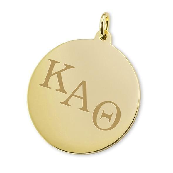 Kappa Alpha Theta 18K Gold Charm - Image 1