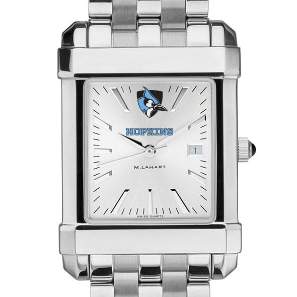 Johns Hopkins Men's Collegiate Watch w/ Bracelet - Image 1