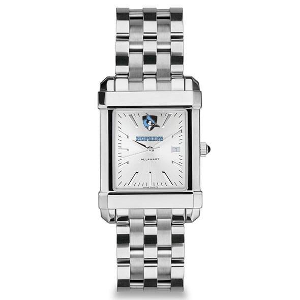 Johns Hopkins Men's Collegiate Watch w/ Bracelet - Image 2