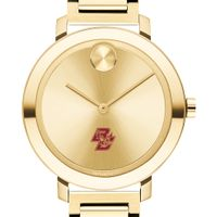 Boston College Women's Movado Gold Bold 34