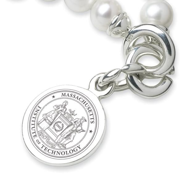 MIT Pearl Bracelet with Sterling Charm - Image 2