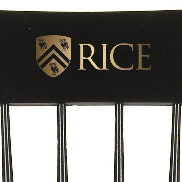 Rice University Captain's Chair by Hitchcock - Image 2