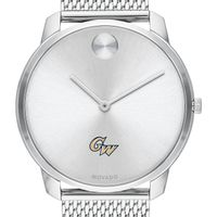 George Washington University Men's Movado Stainless Bold 42