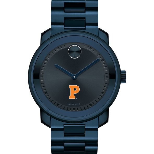 Princeton University Men's Movado BOLD Blue Ion with Bracelet - Image 2