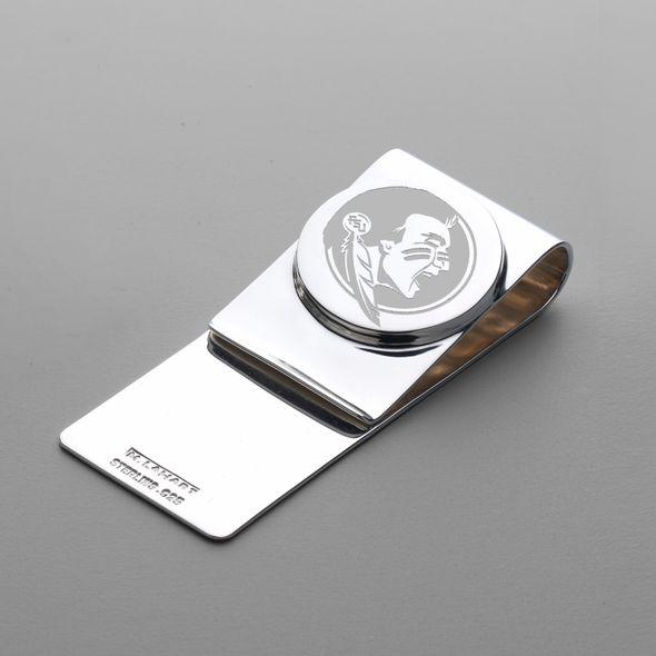 FSU Sterling Silver Money Clip