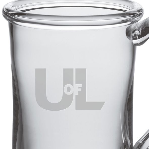 University of Louisville Glass Tankard by Simon Pearce - Image 2