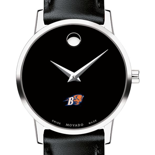 Bucknell University Women's Movado Museum with Leather Strap
