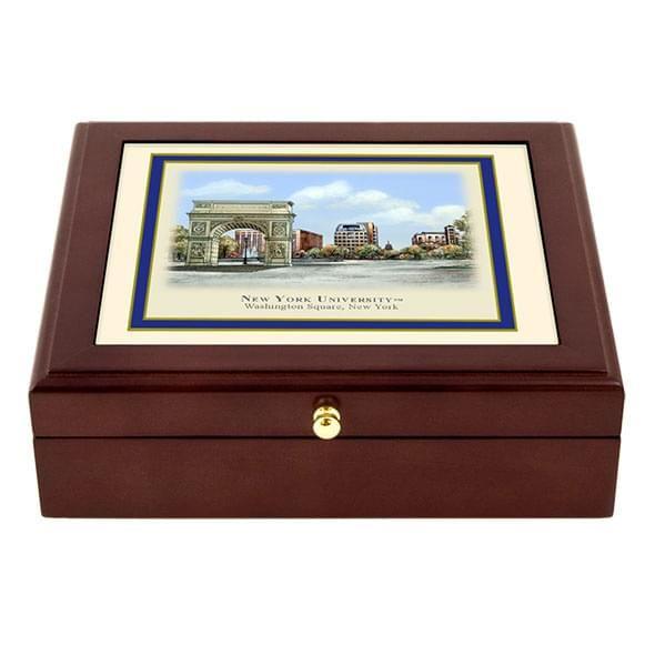 NYU Eglomise Desk Box
