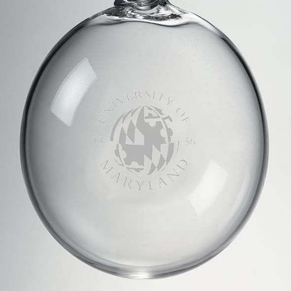 Maryland Glass Ornament by Simon Pearce - Image 2