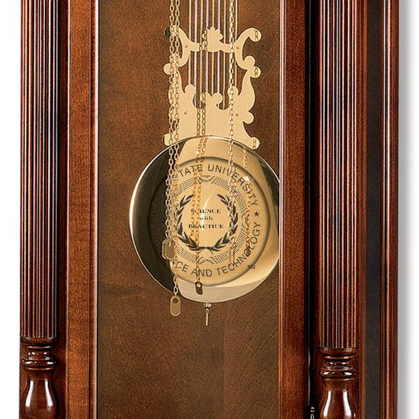 Iowa State University Howard Miller Grandfather Clock - Image 2