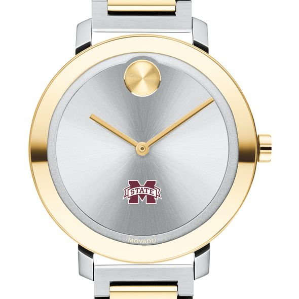 Mississippi State Women's Movado Two-Tone Bold 34