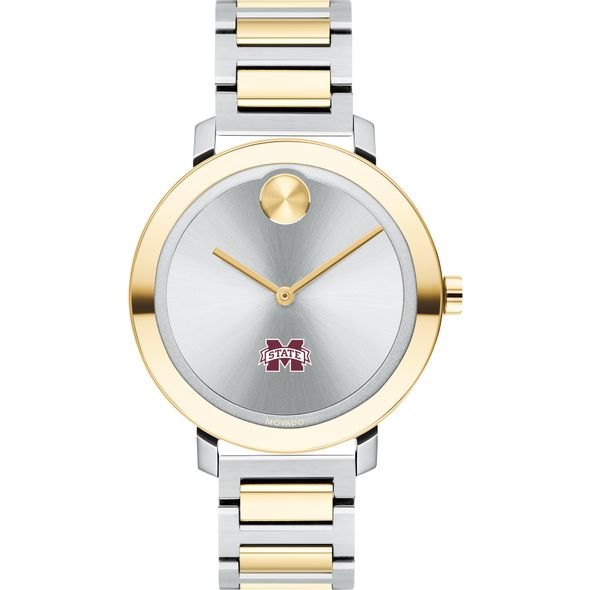 Mississippi State Women's Movado Two-Tone Bold 34 - Image 2