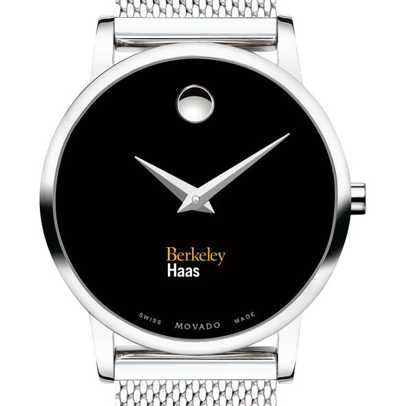 Haas School of Business Women's Movado Museum with Mesh Bracelet