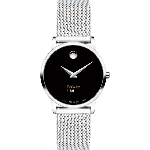 Haas School of Business Women's Movado Museum with Mesh Bracelet - Image 2