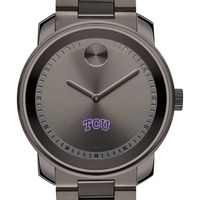 Texas Christian University Men's Movado BOLD Gunmetal Grey