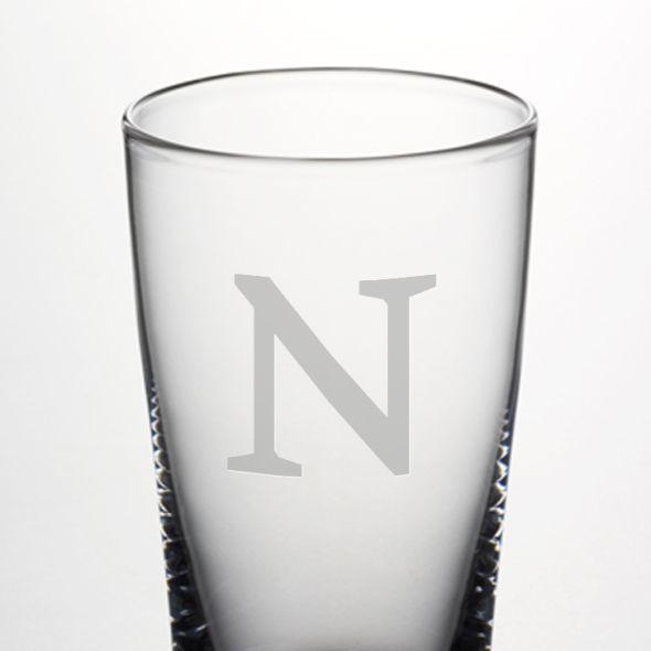 Northwestern Pint Glass by Simon Pearce - Image 2