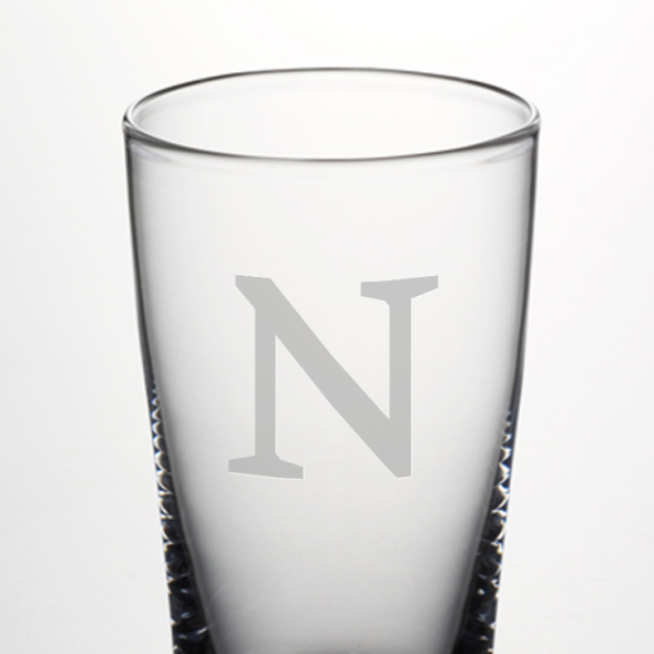 Northwestern Pint Glass by Simon Pearce - Image 2