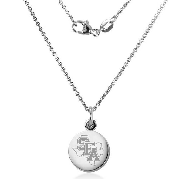 SFASU Necklace with Charm in Sterling Silver - Image 2