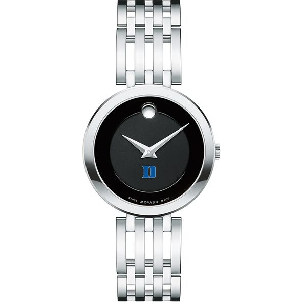 Duke University Women's Movado Esparanza Stainless Steel Museum with Bracelet - Image 2