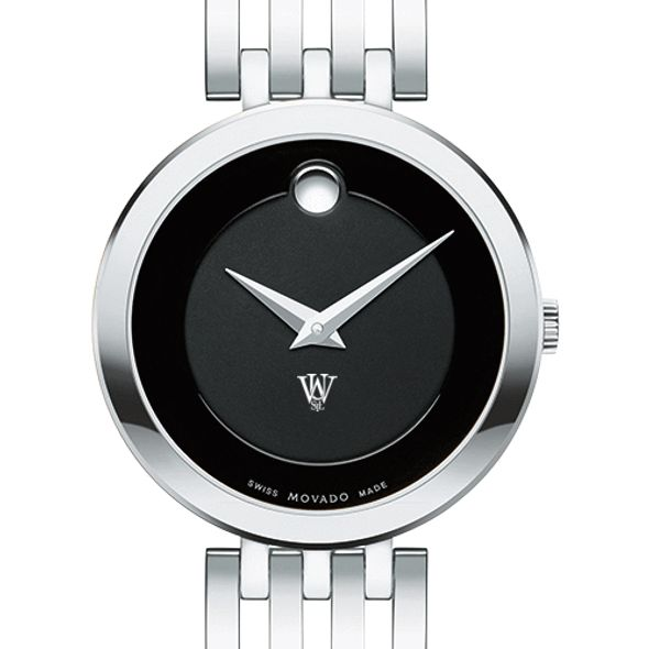 WashU Women's Movado Esparanza Stainless Steel Museum with Bracelet