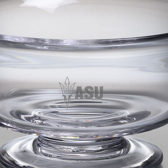 ASU Simon Pearce Glass Revere Bowl Med - Image 2
