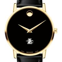 Loyola Men's Movado Gold Museum Classic Leather