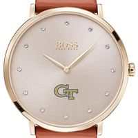 Georgia Tech Women's BOSS Champagne with Leather from M.LaHart