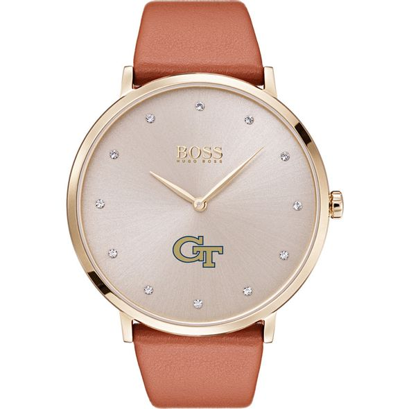 Georgia Tech Women's BOSS Champagne with Leather from M.LaHart - Image 2