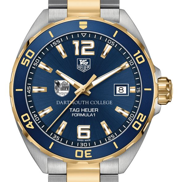 Dartmouth Men's TAG Heuer Two-Tone Formula 1 with Blue Dial & Bezel - Image 1