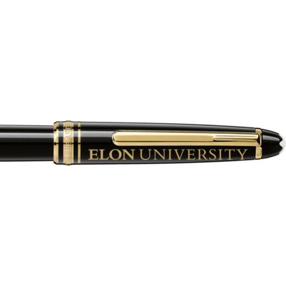 Elon Montblanc Meisterstück Classique Rollerball Pen in Gold - Image 2