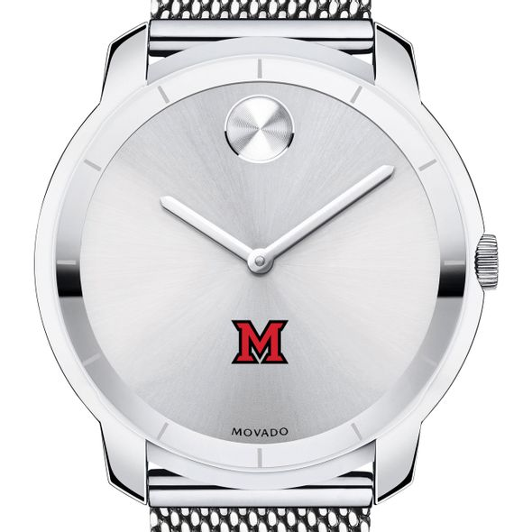 Miami University Men's Movado Stainless Bold 44
