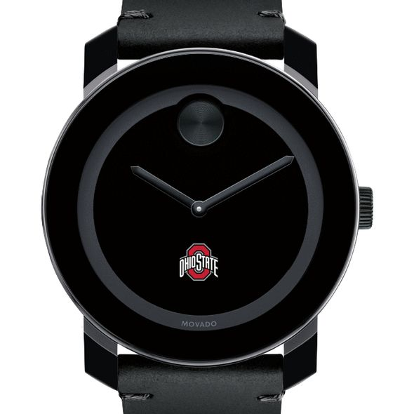 Ohio State Men's Movado BOLD with Leather Strap - Image 1