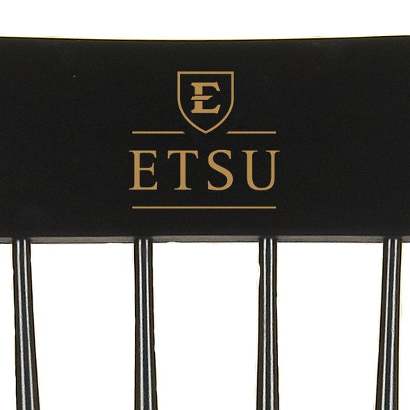 East Tennessee State University Captain's Chair by Hitchcock - Image 2
